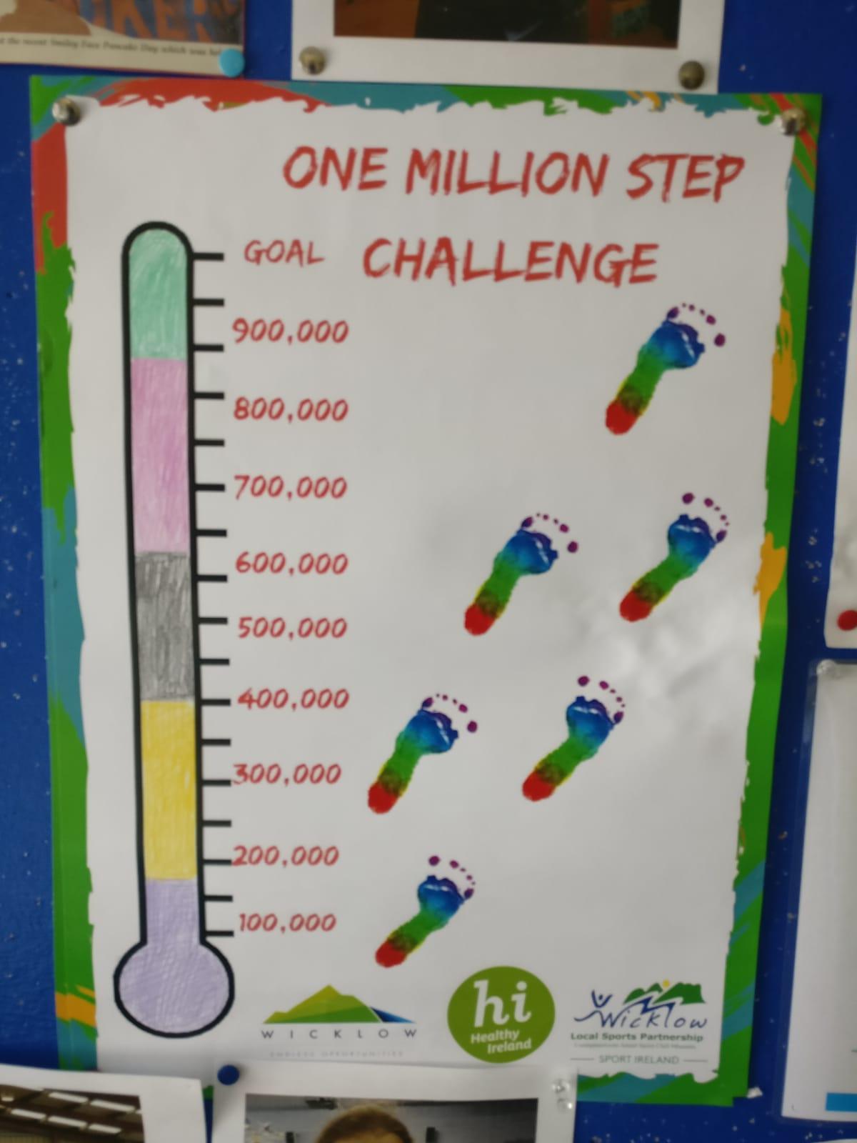 One Million Step Challenge – Glebe National School Wicklow