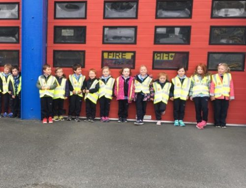 Senior Infants Visit Wicklow Fire Station